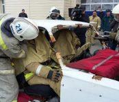 Спасатели на скорость ликвидировали ДТП