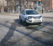 В тройном ДТП на перекрёстке в Бердске никто не пострадал