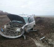 Бердчанка на «Хонде» улетела в кювет после столкновения с «Тойотой» на трассе Р-256