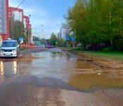 На речке «Кожинке» в Бердске работники КБУ открыли навигацию