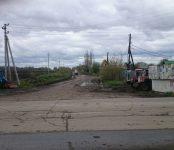 Убрали скандально известный «кирпич» на въезде на сосновскую дорогу в Бердске