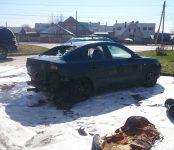 «Свидетель»: Два автомобиля подожгли злоумышленники в Бердске