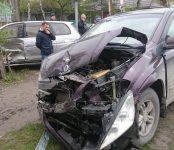 В течение получаса два ДТП произошло на одном и том же перекрёстке в Бердске
