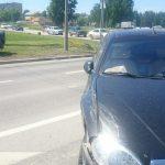 «Классическое» ДТП произошло сегодня на пересечении трассы Р-256 и ул. Спортивной в Бердске