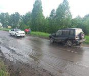 Лобовое на «водозаборной» дороге в Бердске из-за её качества