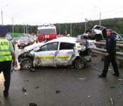 Крупнейшее ДТП с участием 15 авто произошло в Томске (видео)
