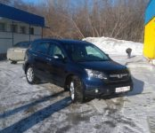 В Новосибирске угнали Honda CRV 2008 года выпуска, госномер Е 438 ЕУ 154