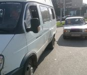 Маршрутка №19 попала в ДТП в центре Бердска