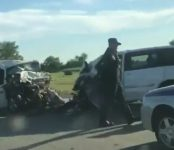 Искитимец на «Тойоте» устроил смертельное ДТП на трассе и сам погиб