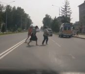 История одного пешеходного перехода в Бердске