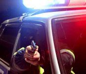 Стреляли по колёсам сотрудники ГИБДД при задержании пьяницы на «шестёрке»