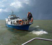 Эвакуировали женщину с севшего на мель катера спасатели Бердска