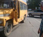 Автобус ЦМУ сбил ребёнка в Бердске