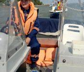 Спасатели выручили дрейфовавших в Обском водохранилище моряков в День ВМФ недалеко от Бердска