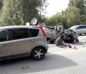 Девочка из Искитима погибла в лобовом столкновении автомобилей на трассе под Бердском