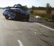 Два человека погибли в автоаварии в Черепановском районе (фото)