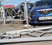 «Обновили» перекрёсток, оборудованный по президентской программе, участники ДТП в Бердске