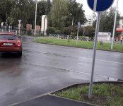 Неизвестные вандалы превратили «качественную и безопасную» разметку в Бердске в опасную