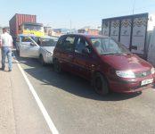 Фура устроила «паровозик» с двумя пострадавшими на трассе в Бердске