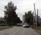 В столкновении двух универсалов на перекрёстке в Бердске травмирована женщина