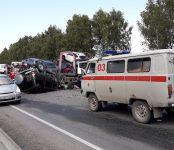 В МВД рассказали о предварительных причинах сегодняшнего смертельного ДТП под Бердском