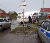 7-летнего велосипедиста сбила «Тойота Королла» в Бердске
