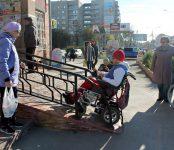 «Свидетель»: Тест-драйв на инвалидной коляске по Бердску