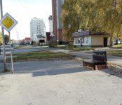 Неизвестный «меценат» обустроил остановку общественного транспорта в Бердске