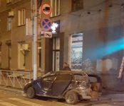 Два человека погибли ночью в Новосибирске в столкновении двух Тойот
