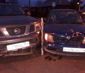 Автоледи не уступила дорогу автоджентельмену на перекрёстке в Бердске