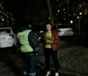 Не дали проспаться автоледи сотрудники областного полка ДПС в Бердске