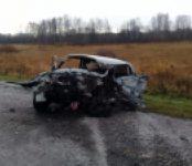 В лобовом столкновении на трассе Р-254 погиб 46-летний водитель «шестёрки» из Омска