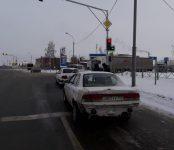 Пьяный на «Ниссане» «догнал» стоящую «Тойоту» на трассе в Бердске