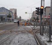 Под угрозой жизнь пешеходов на перекрёстке в Бердске