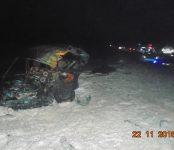 55-летний водитель легкового автомобиля «Рено» погиб в столкновении с КамАЗом