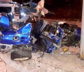 20-летние девушка и парень разбились насмерть после наезда их авто на столб в Новосибирске