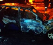 В Искитимском районе сгорел ВАЗ