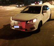 Пьяный пешеход «таранил» авто, после чего «он пошёл дальше» из приёмного покоя в Бердске