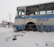 Курсант автошколы на автобусе сбил женщину на пешеходном переходе в Бердске