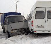 Четыре пассажирки 11-й маршрутки пострадали в ДТП в Бердске