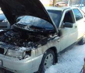 Подгорела «двенашка» на автопрогреве в Бердске (фото)