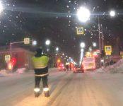 За четыре часа до наступления Нового года в Бердске «Тойота» сбила пешехода