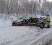 Водитель «Тойоты» погиб в столкновении с фурой в Чулымском районе
