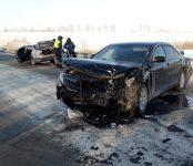 Официально: В МВД рассказали о вчерашнем ДТП на трассе Р-256 в районе Лебедёвки