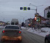 «Светофор-невидимка» на перекрёстке в Бердске стал видимым