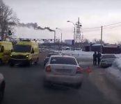Реанимобиль, следовавший в облбольницу с ребенком-пациентом попал в ДТП в Бердске