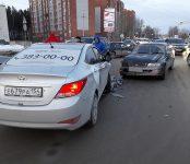 Пассажирка «Яндекс.Такси» травмирована в ДТП на перекрёстке в Бердске