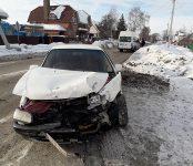 Междугородняя маршрутка с пассажирами попала в ДТП в Бердске