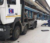 В Новосибирске на заводе в ДТП погиб мотоциклист