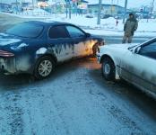 «Марино» и «Карина» не разъехались на трассе Р-256 в Бердске